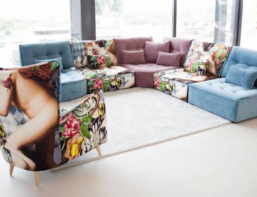 Fama Sofas…by designer Feliz Lopez Gil