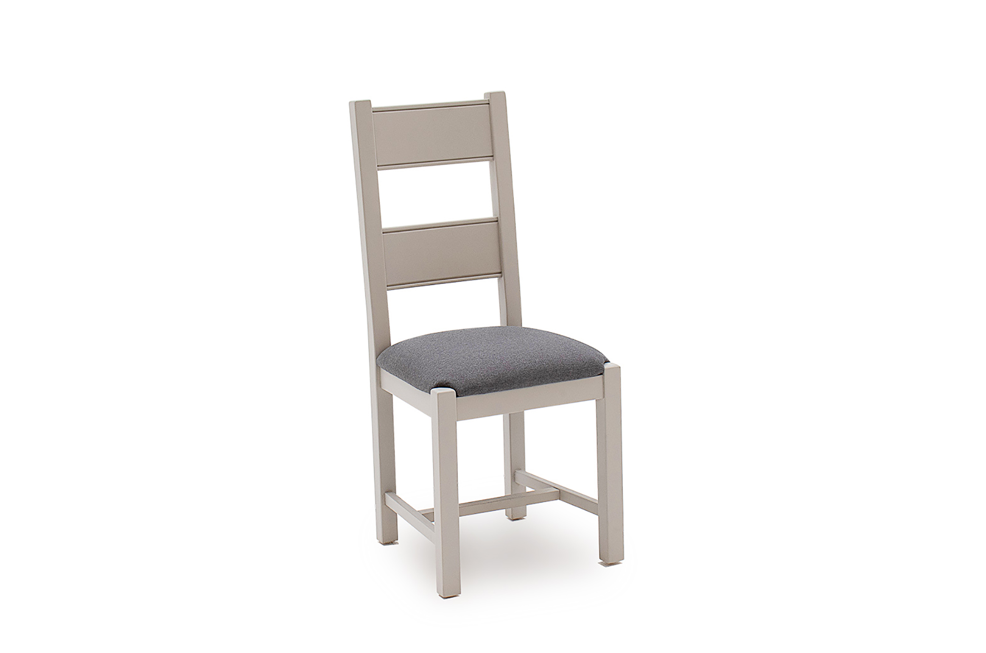 Amberly Dining Chair Grey Angle