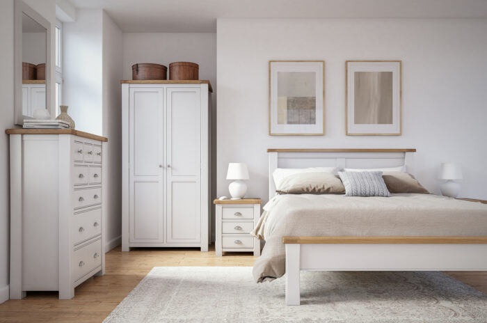 Amberly bedroom low footboard
