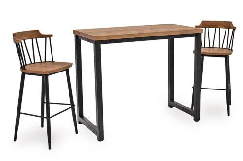 Hinrik Bar Table Blake Bar Chair