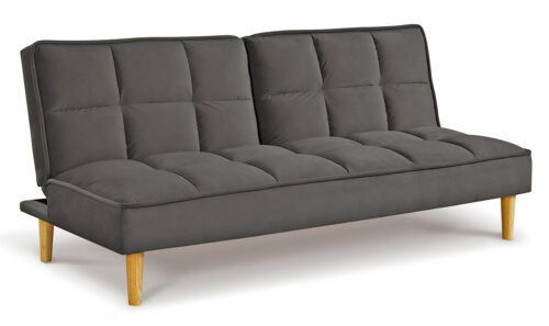 Lokken Sofa Bed Dark Grey - Angle