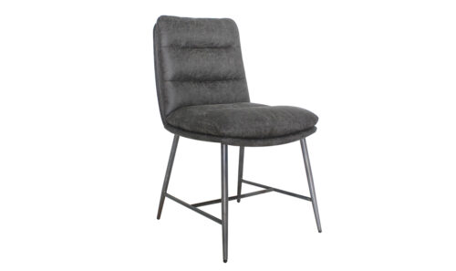 Romy Dining Chair - Hickory Angled