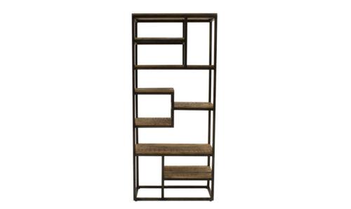 Savannah Bookcase Tall Slim - Straight