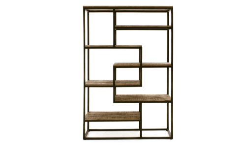 Savannah Bookcase Tall Wide - Straight