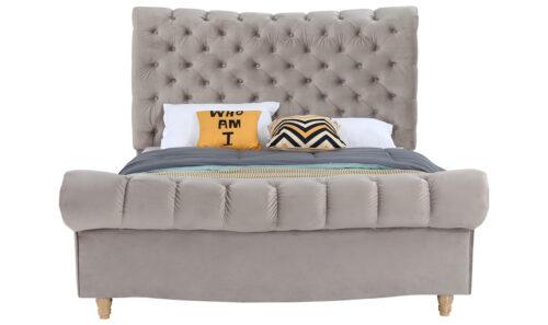 Sloane Bed Straight - 5' Subtle Mink