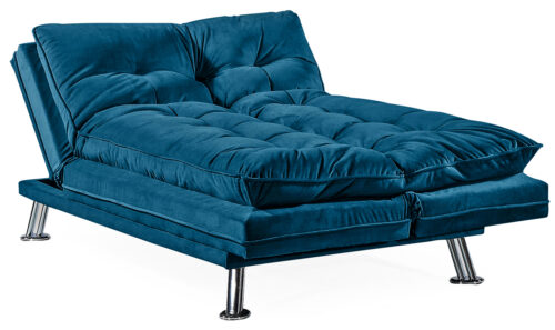 Sonder Sofa Bed Blue - Open