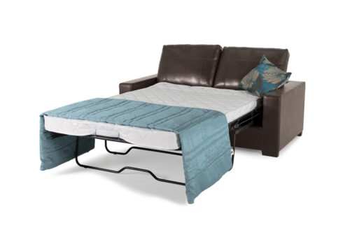 Turin Sofa Bed - CN Brown Open - Cutout