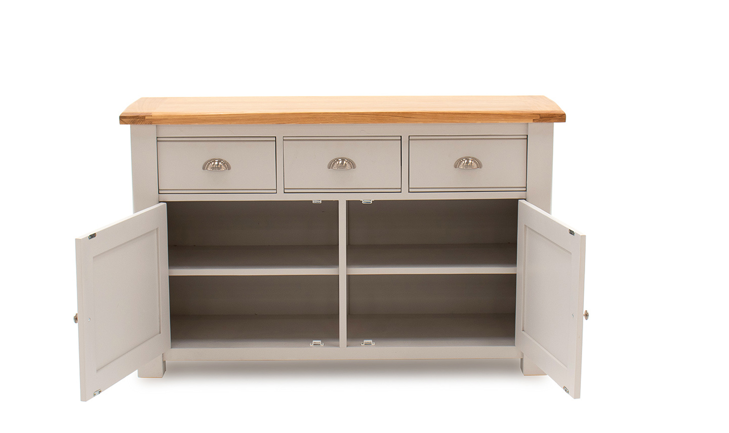 Amberly Sideboard Large Front Open