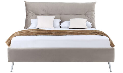 Avery Bed Straight - 5' Subtle Mink