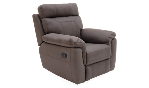 Baxter 1 Seater Recliner Brown - Angle