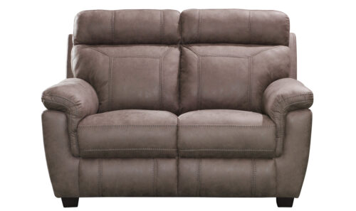 Baxter 2 Seater Fixed Brown - Front