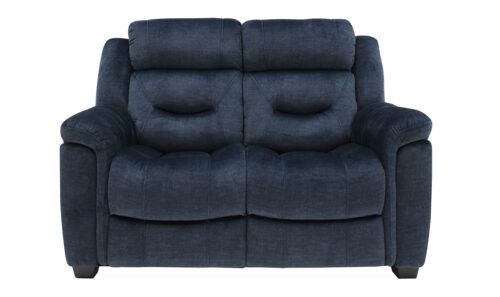 Dudley 2 Seater Blue Straight