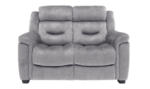 Dudley 2 Seater Grey Straight