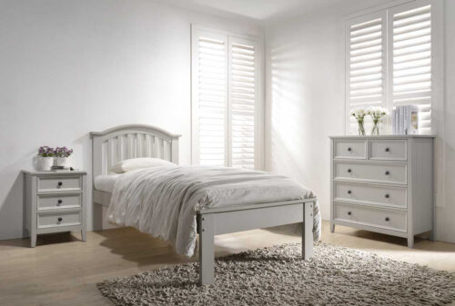 Mila Curved Bed 3' - Taupe