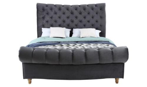 Sloane Bed Straight - 5' Grey
