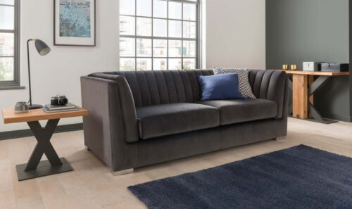 Upton 3 Seater - Charcoal with Lindau Occasional (3)