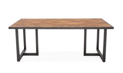 Vanya Rectangle Dining Table Straight