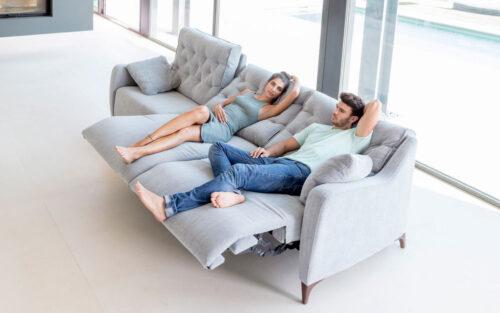 Avalon 3 Seater reclining sofa